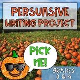 Fall Persuasive Writing