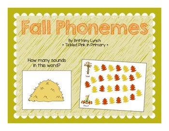 Fall Phonemes (Phoneme Segmentation Game)