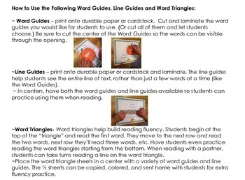 Fall Phonemic Awareness and Fluency Fun {Guided Reading, Intervention}