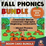 Fall Phonics Activities Digital Bundle