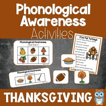 Fall Phonological Fun~Games, Songs, and more