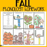 Fall Phonology Homework