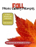 Fall Photo Writing Prompts with Word Banks