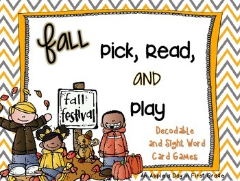 Fall Pick, Read, and Play