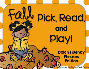 Fall Pick, Read, and Play Phrases