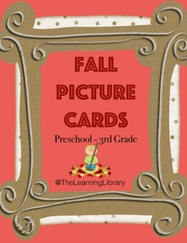 Fall Picture Cards
