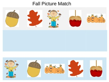 Fall Picture Match Ups
