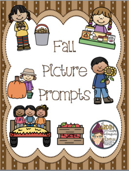 Fall Picture Prompts- Open Ended-Two Options