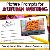 Autumn Picture Prompts for Writing