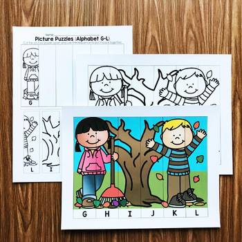 Fall Picture Puzzles