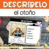 Fall Picture Writing Prompts in Spanish - Describe imágene