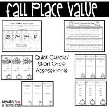 Fall Place Value- 1st Grade