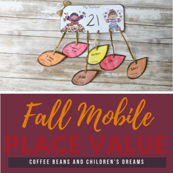 Fall Place Value Mobile