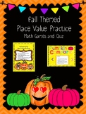 Fall Place Value Practice {Low Prep}