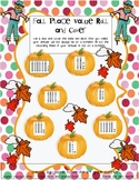 Fall Place Value Roll and Cover
