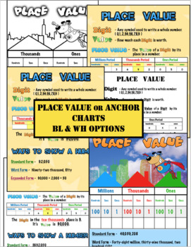 Fall Place Value Task Card Game for Expanded Form: Plus Hands-on Activities