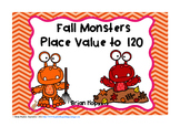 Fall Place Value to 120 Task Cards