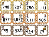 Fall Place Value- walk the room