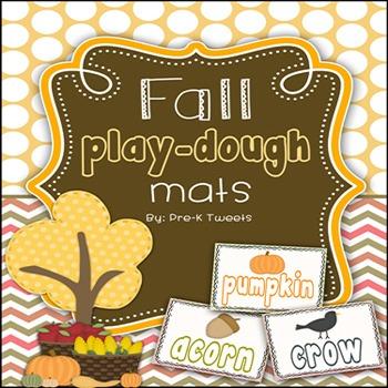 Fall Play-Dough Mats