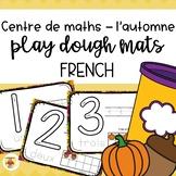 Fall Play Dough Mats - FRENCH - ten frame