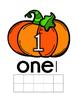 Fall Playdough Mats - 0-20
