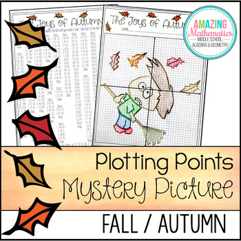 Fall Plotting Points - Mystery Picture