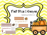 Fall Plus One Addition Games