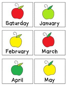 Fall Pocket Chart Activities