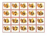 Fall ~ Pocket Chart Number Cards 1-100