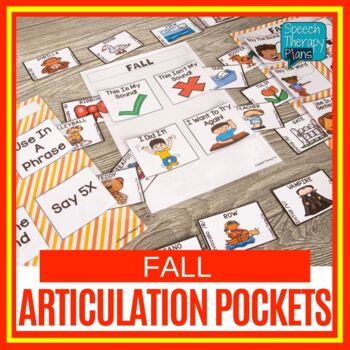 Fall Speech Pockets for Articulation
