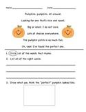 Fall Poem Pack