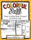 "Fall Poem Writing --- ""Colorful Fall"" Poetry Writing Book"