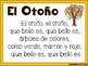 Fall Poem in Spanish