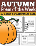 Fall Poem of the Week