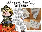 Fall Poem of the Week Flipbook Activities