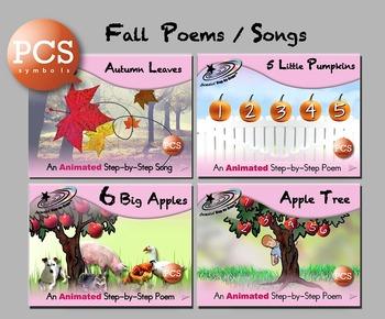 Fall Poems/Song Bundle - PCS
