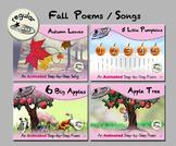 Fall Poems/Song Bundle - Regular