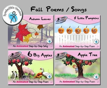 Fall Poems/Song Bundle - SymbolStix