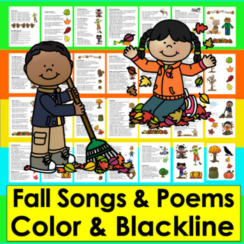 Fall Activities: Poems, Songs and Finger Plays for Autumn Shared Reading