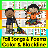 Fall Activities Poems, Songs and Finger Plays for Autumn S