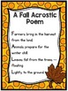 Fall Poems for Students