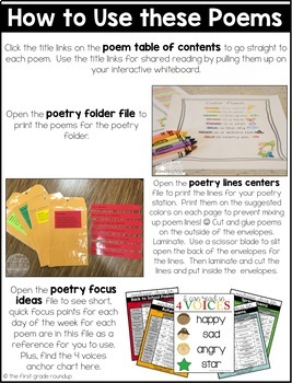Fall Poems of the Week for Shared Reading