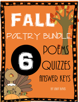 Fall Poetry Bundle