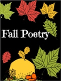 Fall Poetry Center
