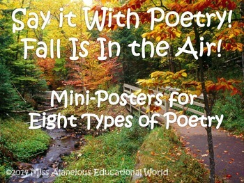 Fall Poetry! Express Yourself With Eight Different Forms o
