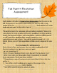 Fall Poetry Reciting Assignment