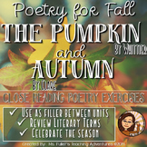 "Fall Poetry- Whittier's ""The Pumpkin"" and Clare's ""Autumn"""