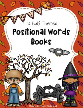 Fall Positional Words Books