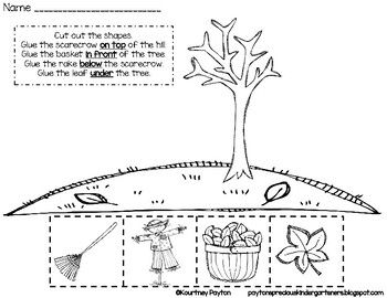Positional words worksheets fresh snapshoot left and right sides ...