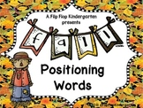 Fall Positioning Words